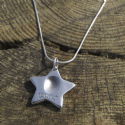 Star Fingerprint Necklace
